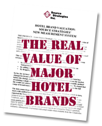 Real Value of Major Hotel Brands