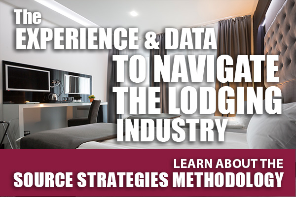 The Experience & Data to Navigate the Lodging Industry - Learn About the Source Strategies Methodology
