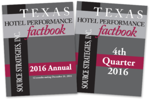 Texas Hotel Factbook - 4th Quarter 2016 - Source Strategies, Inc.