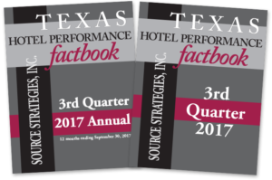 Texas Hotel Performance Factbook - 3Q 2017 | Source Strategies